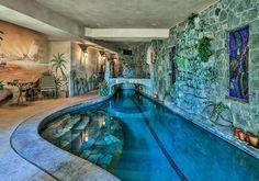 Beautiful Indoor Swimming Pool Design Ideas for Your Home #IndoorSwimmingPool #SwimmingPoolDesign #SwimmingPoolIdeas