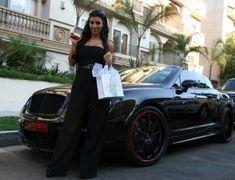 Kim Kardashian's Bentley