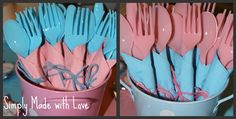 Simply Made...with Love: Gender Reveal Party
