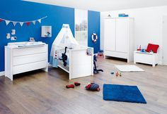 Kinderzimmer Aura breit Aus massiver Fichte von Pinolino