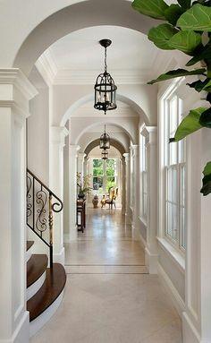 I like this long hallway