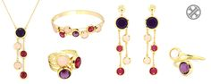 Cristales y color  #anartxy #JoyasEnAcero #JóiasEmAço #SteelJewel #estilo #blog #style #joyas #jewels #woman #color #trend #tendencia #acero #steel