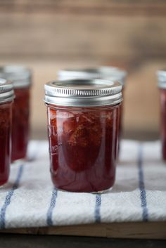 Honey strawberry jam (and a lesson on canning)