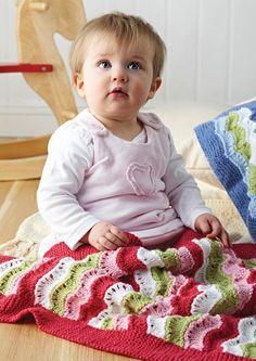 Blankets in Deramores Baby DK (1001) Digital Version | Deramores Knitting Patterns | Knitting Patterns | Deramores