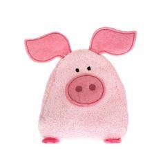 """Schwein gehabt! Das Chriesistei-Kissen """"Frederik"""" wärmt die Kleinen in der kalten Jahreszeit. Zum Aufwärmen ab in den Backofen oder die Mikrowelle - kinderleicht!"""