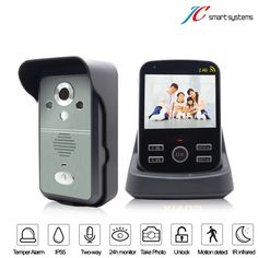 89.00$  Buy now - http://alit1a.worldwells.pw/go.php?t=32763487183 - Real-time monitor video porteiro interfone smart door bell with camera 1v1 89.00$