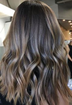 Trendy Hair Color & Balayage : light brown hair color and highlights Brown Ombre Hair, Brown Blonde Hair, Brown Hair Colors, Bayalage Light Brown Hair, Dark To Light Hair, Cool Brown Hair, Light Ash Brown, Brunette Color, Sombre Hair Brunette