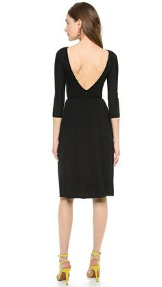 Low back! DSQUARED2 Jersey Sheath Dress