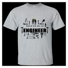 """""""Get your Born To Be An Engineer shirts only at 3bstylez.com"""" by brian-bstylez on Polyvore"""