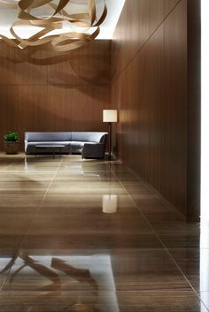 One Madison Park : Luxury Residential Condominium, New York / Yabu Pushelberg Lobby Interior, Luxury Homes Interior, Office Interior Design, Luxury Apartments, Interior Architecture, Hall Hotel, Hotel Corridor, Public Hotel, Yabu Pushelberg