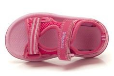 Clarks Star Games, Pink Synthetic, Girls Sandals