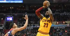 LeBron James Hits Stunning 3 to Help Send Cavaliers Past Wizards in Overtime
