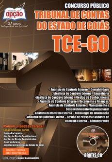 Apostila Concurso Tribunal de Contas do Estado de Goiás - TCE GO / 2014: - Cargo: Analista de Controle Externo - Diversas Especialidades
