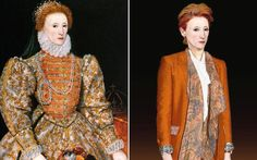 How Elizabeth I would look nowadays (in a Vivian Westwood)