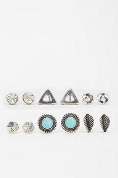 Boho Stud Earring Set i want i want