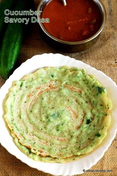 Cucumber Savory Dosa Recipe - Udupi Recipes