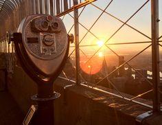 Como ver o nascer do sol no Empire State em Nova York