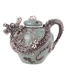 Another great find on #zulily! Green Dragon Teapot #zulilyfinds