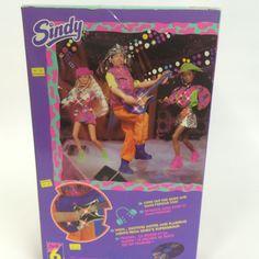 Vintage Hasbro 1990's Sindy Doll - Popstar Paul & Light up Guitar 18526 (MISB) | eBay