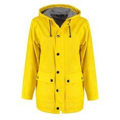 Jacket // Yellow // Rain // Fashion
