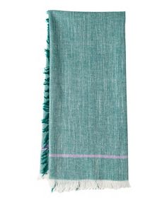 Love this Green Khadhi Dish Towel - Set of Two on #zulily! #zulilyfinds