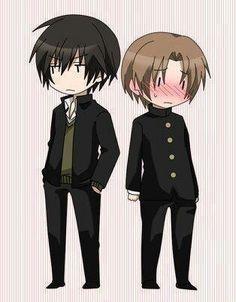 Sekai ichi hatsukoi Saga Masamune & Oda Ritsu