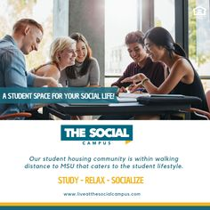 Discover the best apartments in Starkville, MS at The Social Campus. Our top-of-the-line student apartments are just a short distance from campus. Contact us today to schedule a tour!