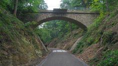 Sambatrasse. Radweg auf einer alten Eisenbahnstrecke. Mehr dazu auf: http://www.coolibri.de/staedte/wuppertal/sport/radfahren-in-wuppertal/sambatrasse.html
