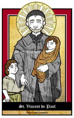 St. Vincent de Paul by NowitzkiTramonto.deviantart.com on @deviantART