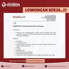 Info Loker Surabaya..!!    #stiepemuda  #infolokersaatini #kuliahkaryawan #kuliahkaryawanjatim #kampussurabaya #d3akuntansi #s1manajemen #kuliahsambilkerja   Info Pendaftaran Kampus : Jl. Bung Tomo No. 0 Ngagel, Surabaya @stiepemuda.sby Call : 0813 - 5837 - 6763  031 - 5029997 Surabaya, Study, Education, Business, School, Studio, Studying, Store, Onderwijs