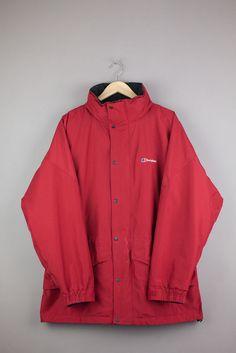 Berghaus Gore-Tex Jacket Coat Red Size 10 12 14 Women Ladies ...