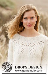 Free knitting patterns and crochet patterns by DROPS Design Knitting Patterns Free, Free Knitting, Stitch Patterns, Free Pattern, Crochet Patterns, Drops Design, Magazine Drops, Crochet Diagram, Work Tops