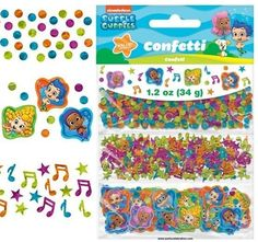 Nickelodeon Bubble Guppies Confetti 1.2Oz. (Each) Birthday Party Supplies~