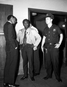 1959, Miles Davis beaten, arrested by NYPD for walking a white girl to a cab and having a cigarette.