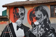 Stencil Work and Street Art by Orticanoodles