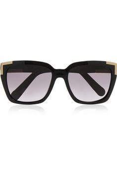 9f0ea8de7ad04 Chloé - Square-frame acetate sunglasses