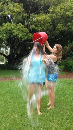 ALS (Lou Gehrig's disease) ice bucket challenge #PeterFrates