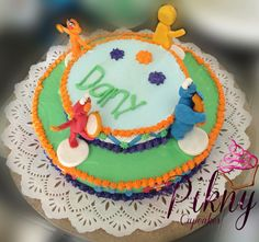 Plaza sésamo cake