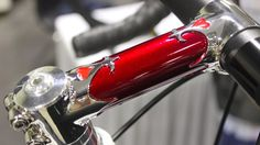 Gorgeous stem from Bellon Handmade Bicycle at 2016 NAHBS