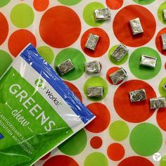 It Works Chews are good for heart health.  They contain the same amount of antioxidants as 20 cartoons of blue berries. It's a great add on to the greens! Also greens have probiotics in them and chews have prebiotics!  Greens Chew: Snack your way to better health with support for healthy blood pressure levels the nutritional boost of prebiotic fiber and the antioxidant strength of 20 cartons of blueberries in every serving of these soft and sweet chews.  Order at www.wrapsbylinda.net…