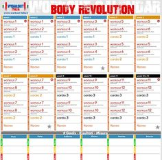 Body Revolution - Workout - Workout-Italia