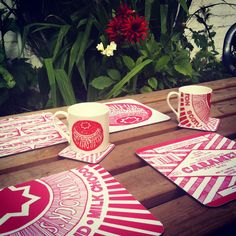 Tunnocks Teacake And Caramel Wafer Placemats Tea Cakes, Creative Business, Scotland, Caramel, Personalized Gifts, Unique Gifts, Stationery, Kitchen Things, Hygge