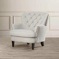 House of Hampton Greene Tufted Upholstered Club Chair & Reviews | Wayfair