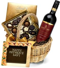 Mother's Day Red Wine & Chocolates #MothersDay