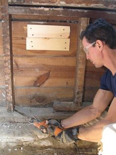 Rot Stud Sill Joist Replace a Rotten Sill Plate | For the ...