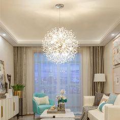 Global Ambient Chandelier light Electroplated Pendant Lamp With Crysta – Lighting Shopper Modern Pendant Light, Pendant Light Fixtures, Pendant Lamp, Küchen Design, House Design, Interior Design, My Living Room, Living Room Decor, Dining Room