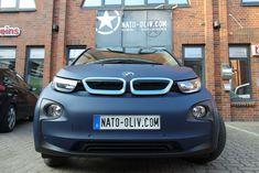 BMW I3 - 3M Matt Dark Navy | Nato Oliv Car Wrapping Bmw I3, Car Wrap, Dark Navy, Wrapping, Vehicle, Concept, Vehicles, Gift Packaging, Packaging