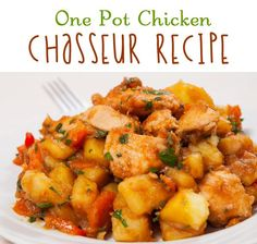 one pot chicken chasseur recipe