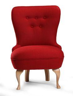 Fotoliu fix tapitat cu stofa Envy Red Envy, Armchair, House Design, Red, Inspiration, Furniture, Home Decor, Sofa Chair, Biblical Inspiration