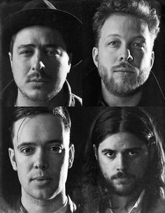 mumfordandsonsblog:Mumford & Sons, as captured by James Minchin III. Click here for more.